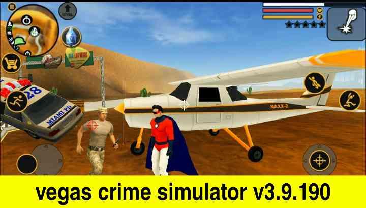 تحميل لعبة vegas crime simulator للكمبيوتر