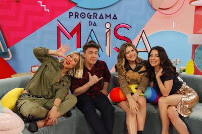 Gio, Oscar, Maisa e Ana Paula (Foto: Gabriel Cardoso/SBT)