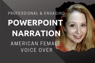 Narrate, add music and convert your powerpoint to video - singing voice - voice singers