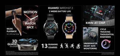 مواصفات و مميزات ساعة هواوي الذكية الجديدة الساعة الذكية Huawei Watch GT 2e