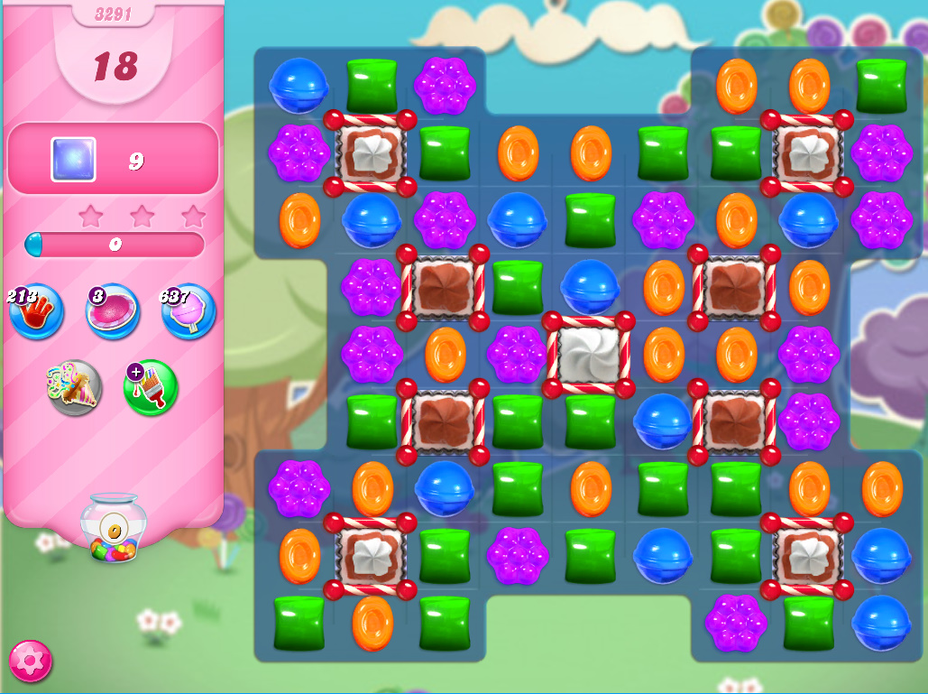 Candy Crush Saga level 3291