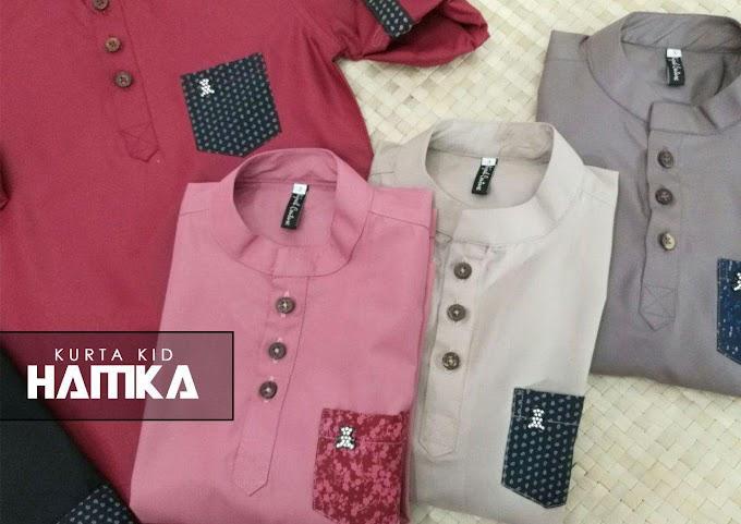Baju Sedondon Ayah dan Anak Raya 2020 ~ Kurta Hamka