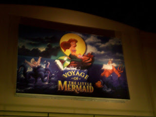 Voyage of the Little Mermaid Disney's Hollywood Studios Sign