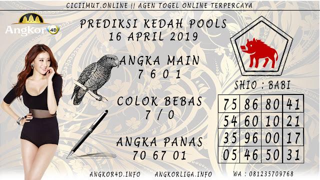 Prediksi Angka Jitu KEDAH POOLS 16 APRIL 2019