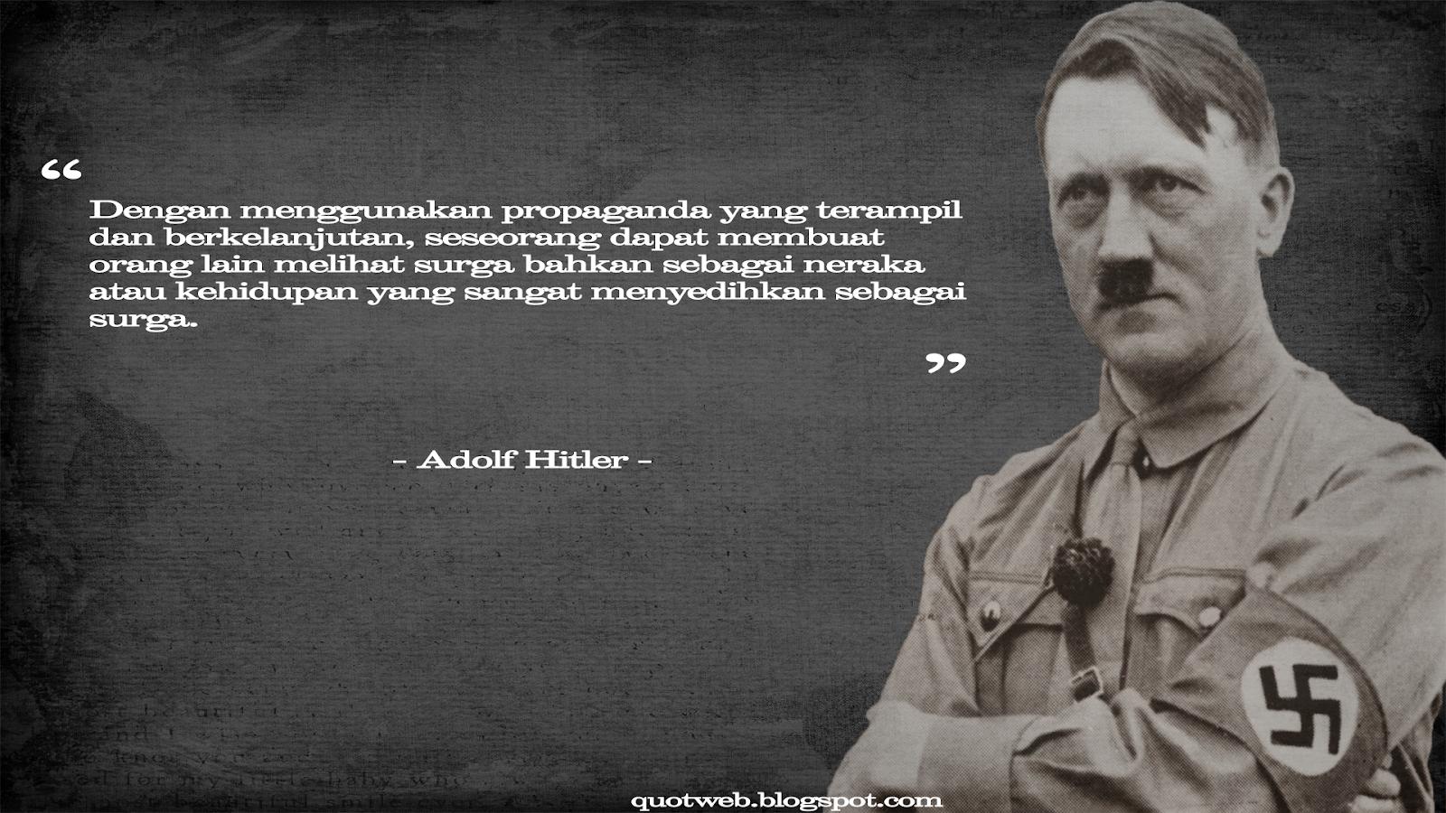 kumpulan quotes adolf hitler quotweb