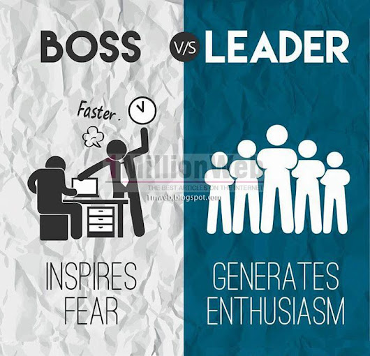 1 Million Web: The Difference - Boss Vs Leader