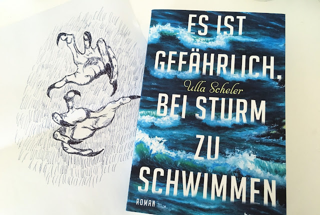 Es ist gefährlich bei Sturm zu schwimmen - Ulla Scheler