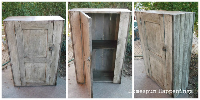 Making a Cabinet from Recycled Wood