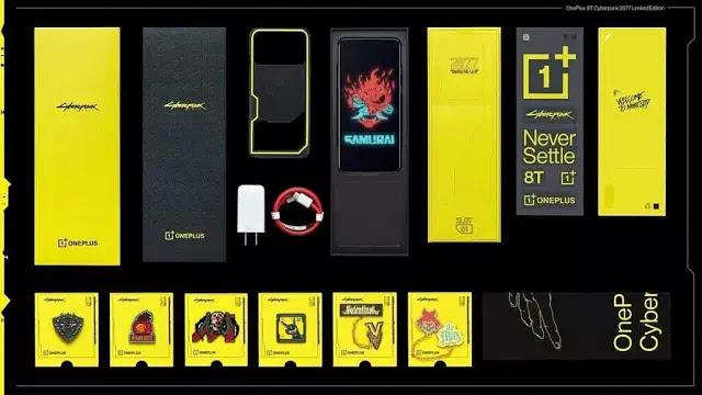 OnePlus 8T X Cyberpunk 2077