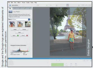 Figure 6 Editing a Photo in Picasa