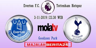 Prediksi Everton vs Tottenham Hotspur — 3 November 2019