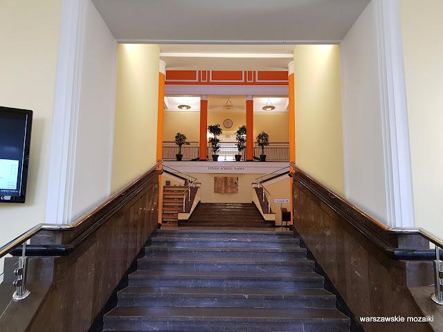 Warszawa Warsaw Bemowo Boernerowo WAT Wojskowa Akademia Techniczna Kaliskiego 19 architektura architecture  Tadeusz Rupniewski schody