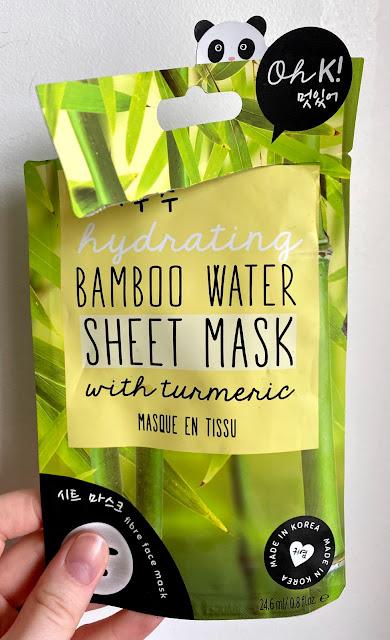 Oh K! Hydrating Bamboo Water Sheet Mask