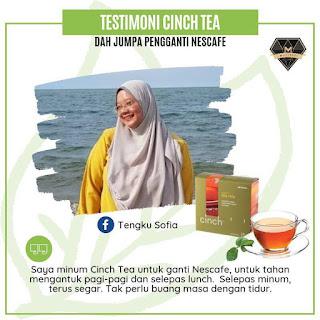 Testimoni Cinch® Tea Mix shaklee gantikan nescafe