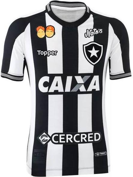 b7b8dc84993c4 Topper apresenta as novas camisas do Botafogo - Show de Camisas
