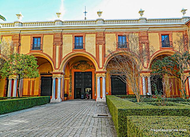 Pavilhão de Carlos V, Real Alcázar de Sevilha
