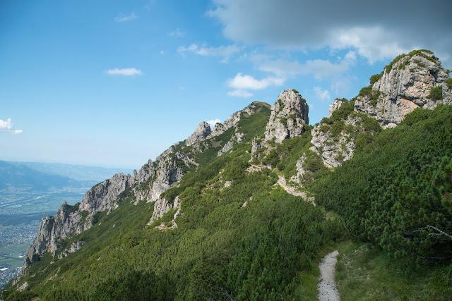 Fürstensteig  Gafadura Hütte - Drei-Schwestern - Gaflei  Wandern in Liechtenstein 17