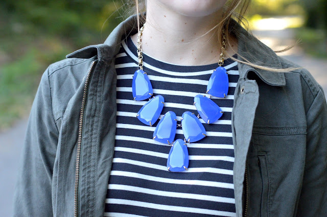 kendra scott blue harlow necklace