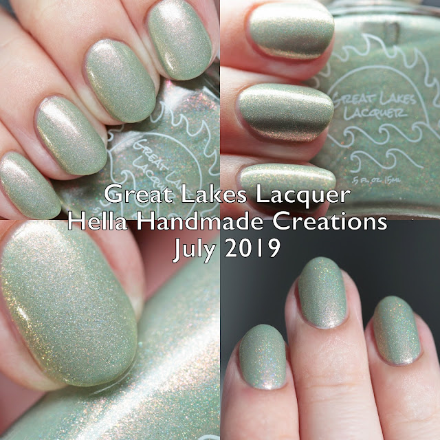 Great Lakes Lacquer Hella Handmade Creations July 2019