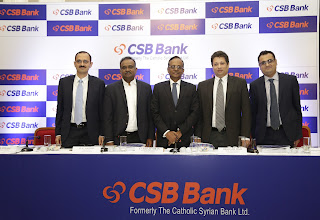 CSB Bank Limited (Formerly known as The Catholic Syrian Bank Limited): Offer to open on November 22, 2019 and to close on November 26, 2019