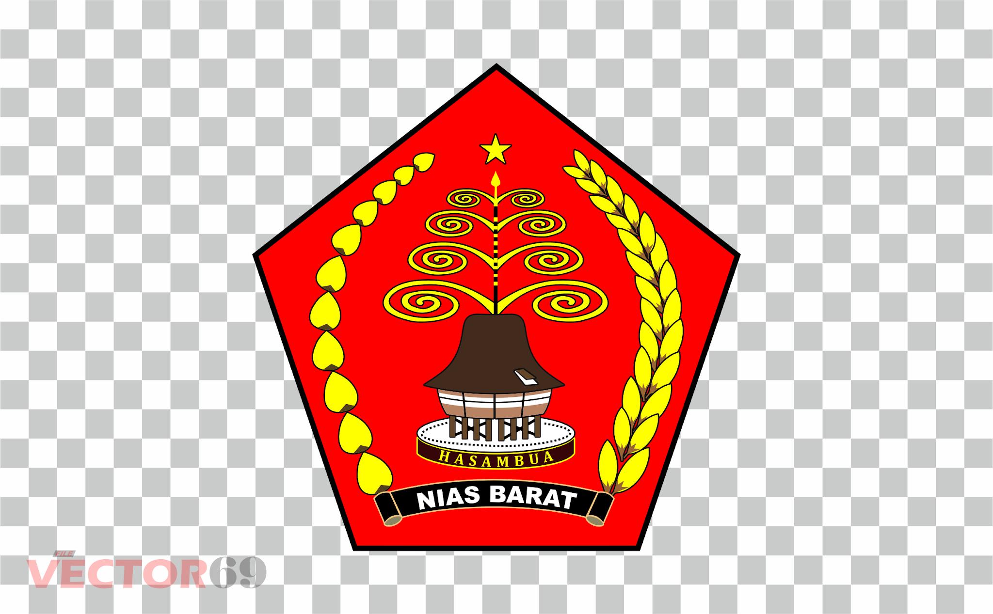Kabupaten Nias Barat Logo - Download Vector File PNG (Portable Network Graphics)