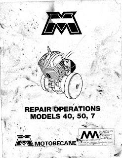 Restored Motorcycle Style: Motobecane Service Manual