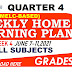 Week 4 Grades 1-10 Weekly Home Learning Plan Q4