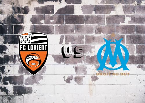 Lorient vs Olympique Marseille  Resumen