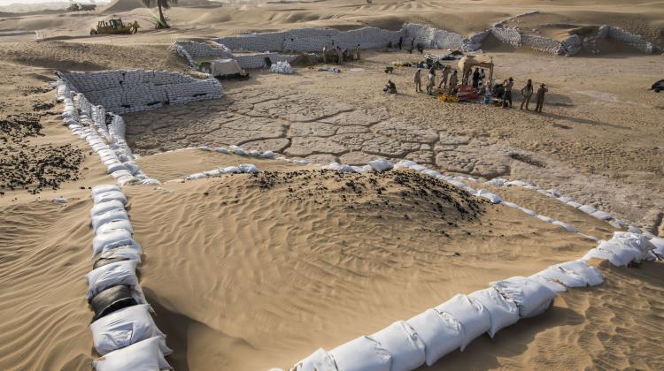 Sítio arqueológico em Saruq Al Hadid