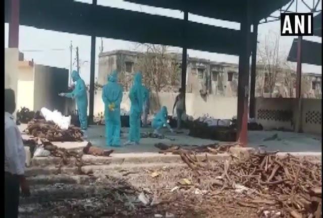 Bhopal today corona virus death report : आठ माह की बच्ची सहित राजधानी भोपाल में पहली बार एक साथ निकली 41 लाशें!! जानिए