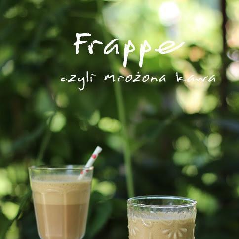 Frappe, czyli mrożona kawa
