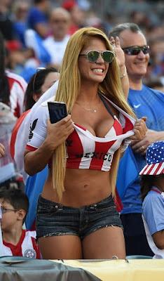 Mujeres Sexys Copa América