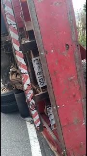 Grave acidente deixa um morto outro ferido na estrada sentido cidade de Pilões.