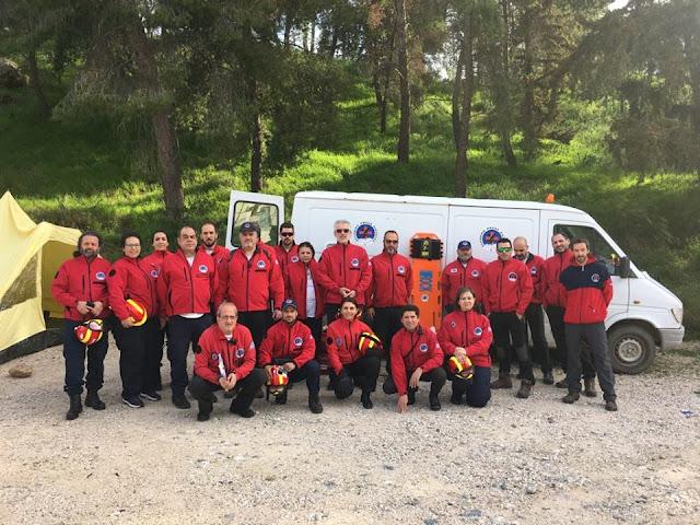 Με 21 άτομα συμμετείχε η Ελληνική Ομάδα Διάσωσης Αργολίδας στην Άσκηση προσομοίωσης με μαζικές απώλειες