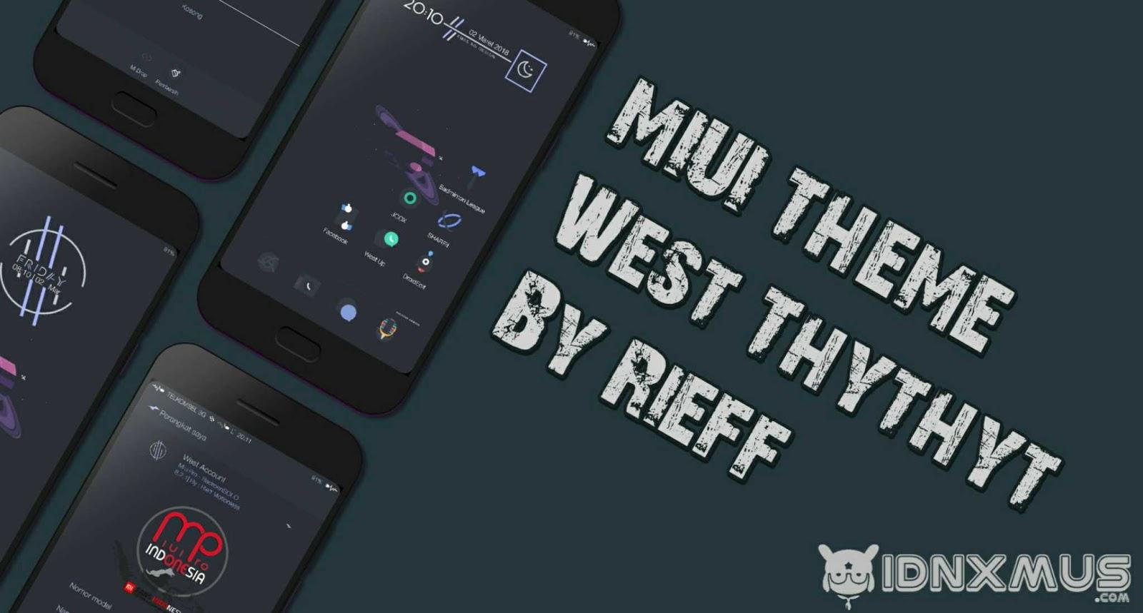 MIUI Theme West Thythyt