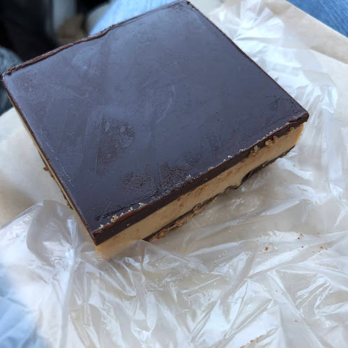 Delectable peanut butter square!