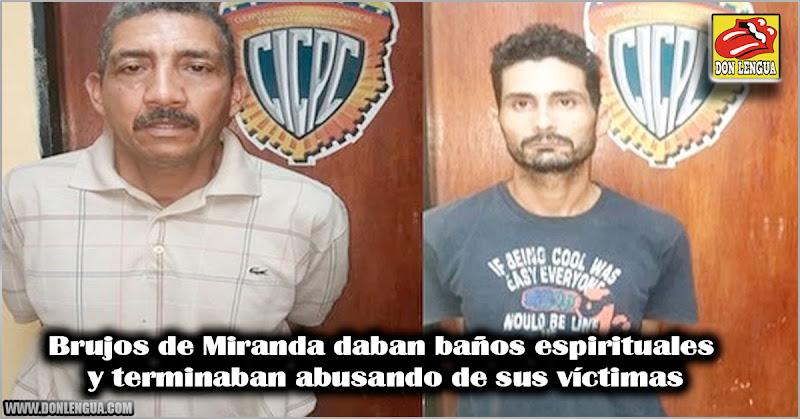 Brujos de Miranda daban baños espirituales y terminaban abusando de sus víctimas