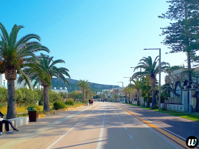 Bike path, Cagliari | Sardinia, Italy | wayamaya