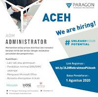 Lowongan Kerja Aceh Paragon Technology and Innovation