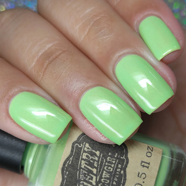 Poetry Cowgirl Nail Polish - Cucumber Jalapeño Martini
