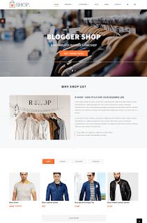 R-Shop - ecommerce responsive blogger template