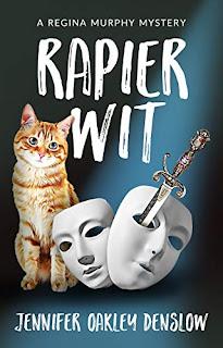 Rapier Wit - a copy mystery book promotion sites Jennifer Oakley Denslow