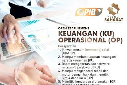 Lowongan Pekerjaan Bagian Keuangan & Operasional di Bogor