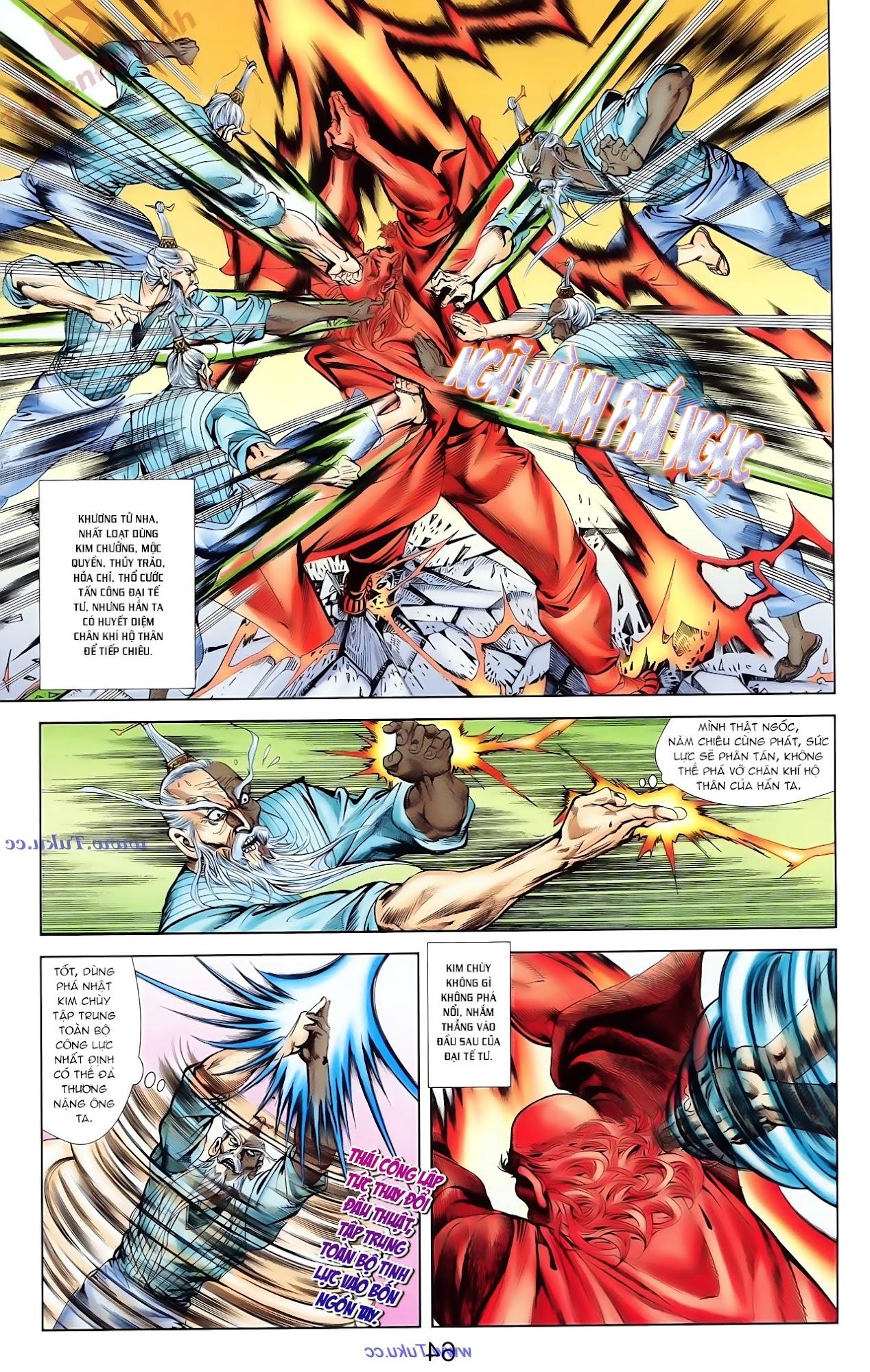 Cơ Phát Khai Chu Bản chapter 81 trang 21