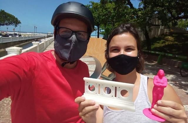 Projeto promove passeio inclusivo para pessoas com deficiência visual em Santos, SP