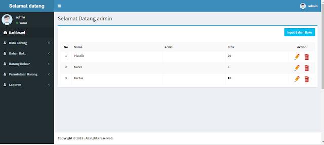 Source Code Aplikasi Inventori PHP-Mysql Gratis !