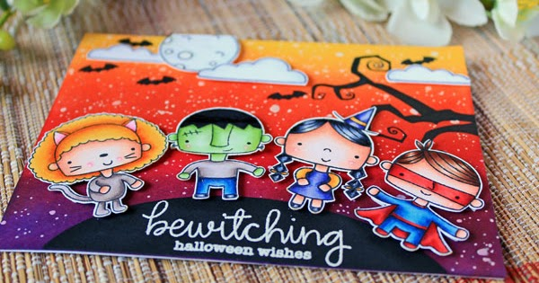 Cn Designs Bewitching Halloween Wishes