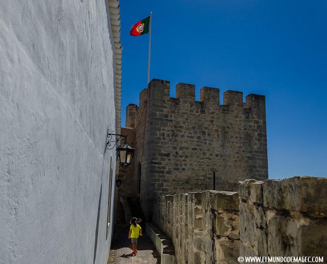 Castillos-de-Portugal, paseando por las murallas del castillo de Loulé