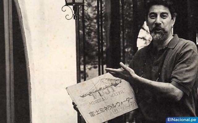Autógrafo de Cerpa del MRTA a Francisco Sagasti