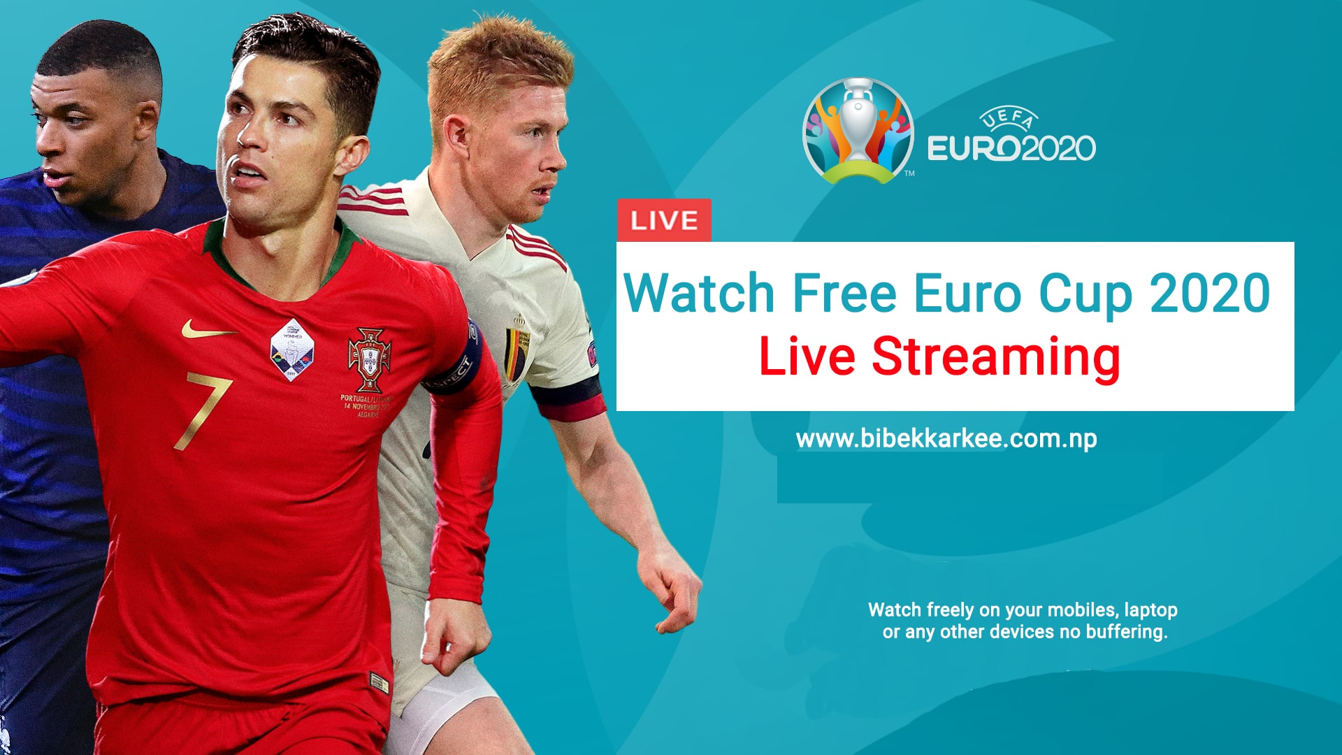 Euro Cup 2020 Live Streaming